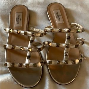 Valentino Rock stud  sandals 😍😍